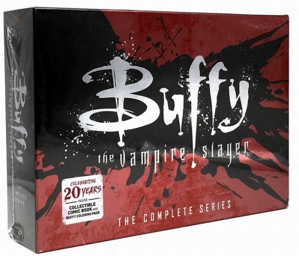 Buffy The Vampire Slayer Complete Series Seasons 1-7 39 DVD Box Set