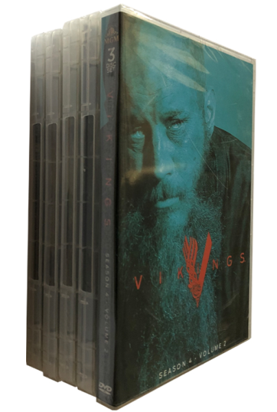 Vikings The Complete Seasons 1-5 DVD Box Set 21 Disc