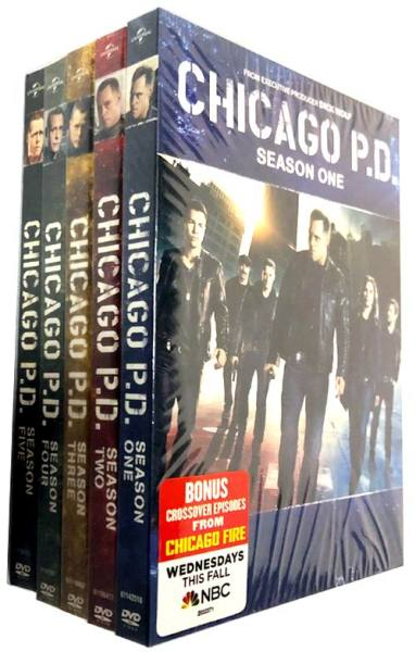 Chicago P.D.The Complete Seasons 1-7 DVD Box Set 39 Disc