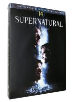 Supernatural Season 14 DVD 5 Disc Free Shipping