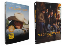 Yellowstone The Complete Seasons 1-2 DVD Box Set 8 Disc Free Shipping