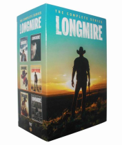 Longmire The Complete Seasons 1-6 DVD Box Set 15 Disc Free Shipping