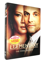 Elementary Season 7 DVD Box Set 3 Disc Free Shipping