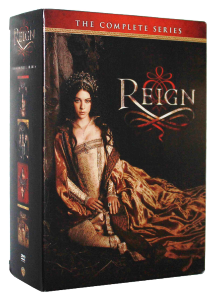 Reign The Complete Series Seasons 1-4 DVD Box Set 17 Disc