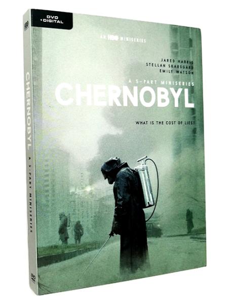Chernobyl Season 1 DVD Box Set 2 Disc