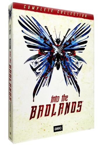 Into the Badlands Season 1-3 DVD Box 9 Disc Set