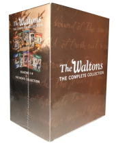The Waltons The Complete Seasons 1-9 DVD Box Set 45 Disc