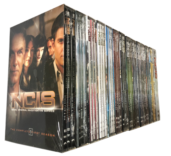 NCIS Naval Criminal Investigative Service Seasons 1-17 DVD 102 Disc Box Set