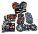 ShaunT's INSANITY MAX 30 Workouts Base Kit 13 DVD Box Set