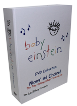 Baby Einstein Collection DVD Box Set 26 Disc Mom's Choice Free Shipping