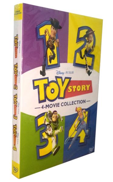 Walt Disney's Toy Story 1-4 Movie Collection DVD 6 Disc Box Set