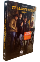 Yellowstone Season 2 DVD Box Set 4 Disc Free Shipping