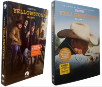 Yellowstone Seasons 1-2 1,2 DVD Box Set 8 Discs New