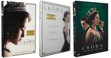 The Crown The Complete Seasons 1-3 DVD Box Set 11 Disc