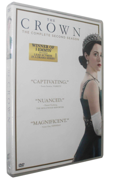 The Crown The Complete Season 2 DVD Box Set 3 Disc