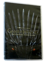 Game of Thrones The Complete Season 8 DVD Box Set 4 Disc Free Shipping