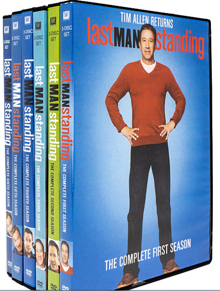Last Man Standing The Complete Seasons 1-8 DVD Set 24 Disc