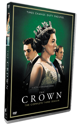 The Crown The Complete Season 3 DVD Box Set 3 Disc