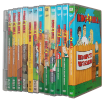 King of the Hill Seasons 1-13 DVD Box Set 37 Disc