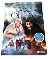 Good Omens Season 1 DVD Box Set 2 Disc New Free Shipping