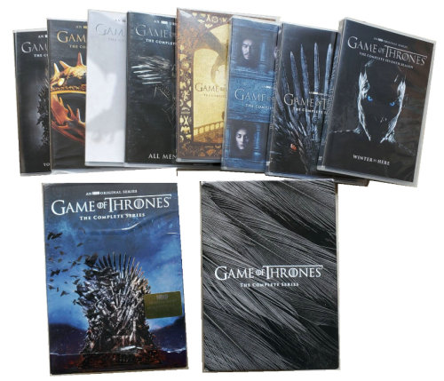 Game Of Thrones The Complete Series Seasons 1 8 Dvd Box Set 38 Disc Free Shipping