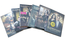 Elementary The Complete Seasons 1-7 DVD Box Set 40 Disc Free Shipping
