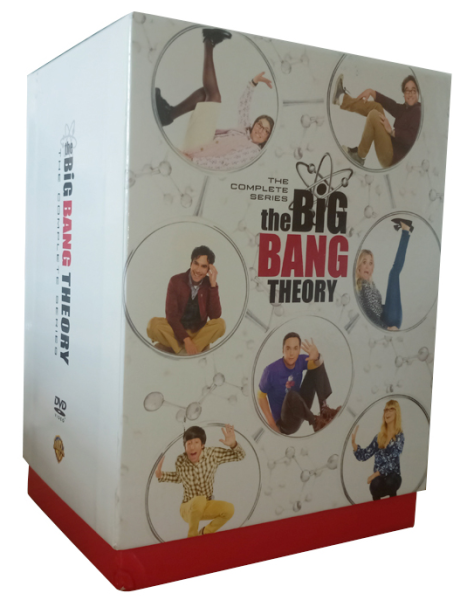 The Big Bang Theory The Complete Seasons 1-12 DVD Box Set 37 Discs
