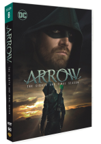 Arrow The Complete Season 8 DVD Box Set 3 Disc Free Shipping