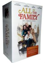 All In The Family The Complete Series DVD 28 Disc Set Free Shipping