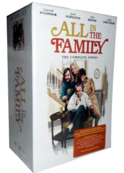 All In The Family The Complete Series DVD 28 Disc Set