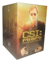 CSI Miami The Complete Series Seasons 1-10 DVD Box Set 65 Disc Free Shipping