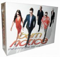 Burn Notice The Complete Seasons 1-7 DVD 28 Disc Box Set Free Shipping