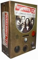 Warehouse 13 The Complete Series Seasons 1-5 DVD Box Set 16 Disc Free Shipping