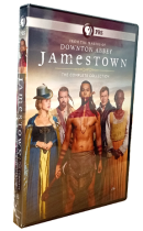 Downton Abbey Jamestown The Complete Collection 1-3 DVD Box Set 6 Disc Free Shipping