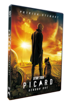 Star Trek Picard Season 1 DVD Box Set 3 Disc