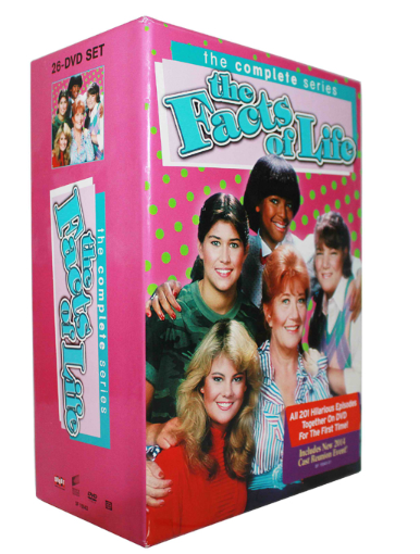 The Facts of Life Complete Series DVD 26 Disc