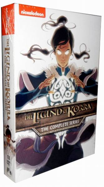 The Legend Of Korra The Complete Series DVD Box Set 8 Disc