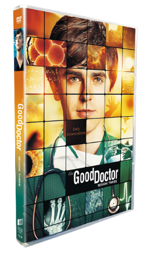 The Good Doctor Season 3 DVD Box Set 4 Disc