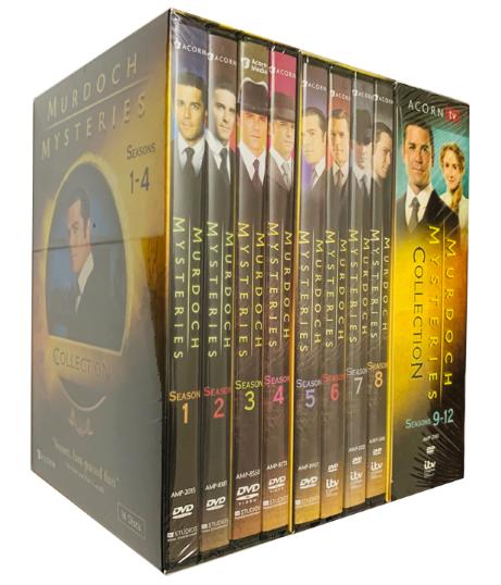 Murdoch Mysteries The Complete Seasons 1-14 DVD 61 Discs Box Set