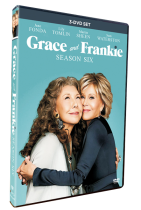 Grace and Frankie Season 6 DVD Box Set 3 Disc