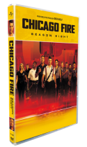 Chicago Fire Season 8 DVD Box Set 5 Disc