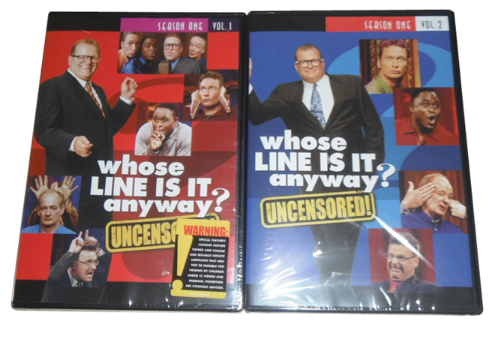 Whose Line Is It Anyway? Season 1 Vol. 1-2 4 Disc