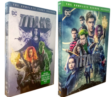 Titans The Complete Seasons 1-2 DVD Box Set 6 Disc