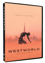 Westworld Season 3 Three DVD Box Set 3 Disc
