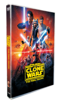 Star Wars The Clone Wars The Final Season 7 DVD Box Set 3 Disc