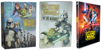 Star Wars The Clone Wars The Complete Series Seasons 1-7 DVD 25 Discs Box Set