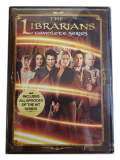 The Librarians The Complete Series Seasons 1-4 DVD Box Set 12 Disc