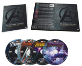 Marvel's Avengers The Complete Collection 1-4 DVD Box Set 4 Disc