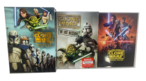 Star Wars The Clone Wars Seasons 1-7 DVD 25 Disc Set