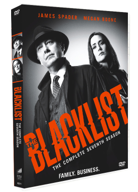 The Blacklist Season 7 DVD Box Set 3 Disc